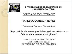 divulgaçao DO Vanessa